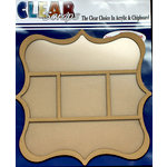Clear Scraps - 12 x 12 Printer Tray - Deco Circle