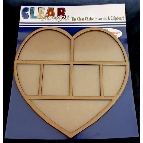 Clear Scraps - 12 x 12 Printer Tray - Heart