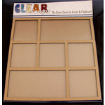 Clear Scraps - 12 x 12 Printer Tray - Rectangle and Square