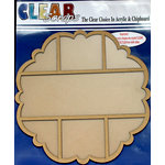 Clear Scraps - 12 x 12 Printer Tray - Scallop Circle