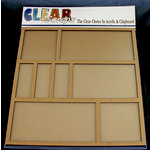 Clear Scraps - 12 x 12 Printer Tray - Rectangle and Square - Small