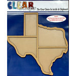 Clear Scraps - 12 x 12 Printer Tray - Texas Circle