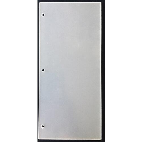 Clear Scraps - Acrylic Album - Slimline - 5 x 11 - Regular
