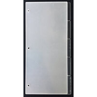 Clear Scraps - Acrylic Album - Slimline - 5.5 x 11 - Tabbed