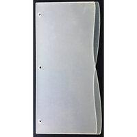 Clear Scraps - Acrylic Album - Slimline - 5 x 11 - Wave