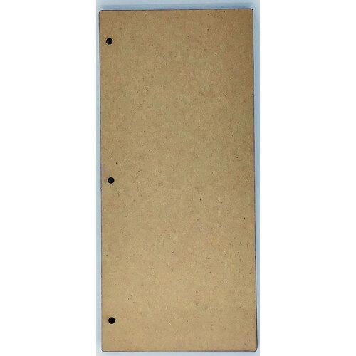 Clear Scraps - Chipboard Album - Slimline - 5 x 11 - Regular
