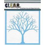 Clear Scraps - Mascils - 12 x 12 Masking Stencil - Bare Tree