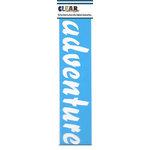 Clear Scraps - Mascils - Border Masking Stencil - Adventure