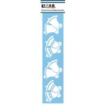 Clear Scraps - Mascils - Border Masking Stencil - Bells