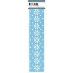 Clear Scraps - Mascils - Border Masking Stencil - Daisy