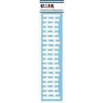 Clear Scraps - Mascils - Border Masking Stencil - Fence