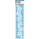 Clear Scraps - Mascils - Border Masking Stencil - Floral 1