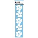 Clear Scraps - Mascils - Border Masking Stencil - Hibiscus