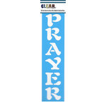 Clear Scraps - Mascils - Border Masking Stencil - Prayer