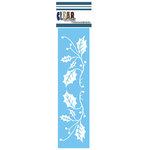 Clear Scraps - Mascils - Christmas - Border Masking Stencil - X-Mas Vine