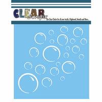 Clear Scraps - Mascils - 12 x 12 Masking Stencil - Bubbles