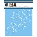 Clear Scraps - Mascils - 6 x 6 Masking Stencil - Bubbles