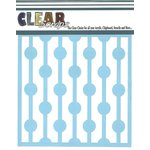 Clear Scraps - Mascils - 12 x 12 Masking Stencil - Bulb String