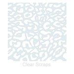 Clear Scraps - Mascils - 12 x 12 Masking Stencil - Cheetah