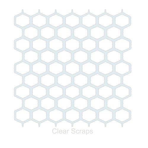 Clear Scraps - Mascils - 12 x 12 Masking Stencil - Chicken Wire
