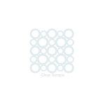 Clear Scraps - Mascils - 6 x 6 Masking Stencil - Circles