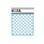 Clear Scraps - Mascils - 6 x 6 Masking Stencil - Diamonds