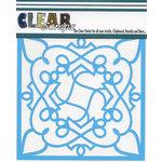 Clear Scraps - Mascils - 6 x 6 Masking Stencil - Doodling