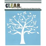 Clear Scraps - Mascils - 6 x 6 Masking Stencil - Family Tree