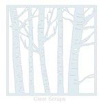 Clear Scraps - Mascils - 12 x 12 Masking Stencil - Forest