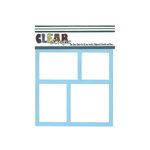 Clear Scraps - Mascils - 6 x 6 Masking Stencil - Frames