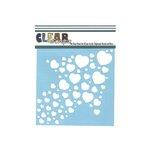 Clear Scraps - Mascils - 6 x 6 Masking Stencil - Heart Arrow
