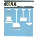 Clear Scraps - Mascils - 6 x 6 Masking Stencil - Lamps