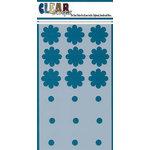 Clear Scraps - Mascils - 5 x 9 Layering Masking Stencil - Flowers