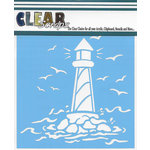 Clear Scraps - Mascils - 6 x 6 Masking Stencil - Light House