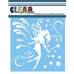 Clear Scraps - Mascils - 12 x 12 Masking Stencil - Magical Fairy