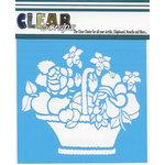 Clear Scraps - Mascils - 6 x 6 Masking Stencil - Mixed Basket