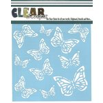 Clear Scraps - Mascils - 12 x 12 Masking Stencil - Monarch Butterfly
