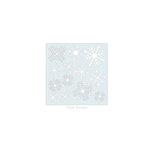 Clear Scraps - Mascils - 6 x 6 Masking Stencil - Nordic Snowflakes