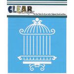 Clear Scraps - Mascils - 12 x 12 Masking Stencil - Oriental Cage