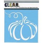 Clear Scraps - Mascils - Halloween - 12 x 12 Masking Stencil - Pumpkin