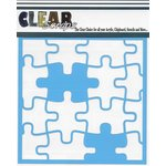 Clear Scraps - Mascils - 6 x 6 Masking Stencil - Puzzle