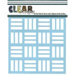 Clear Scraps - Mascils - 12 x 12 Masking Stencil - Retro Blocks
