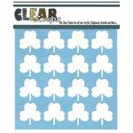 Clear Scraps - Mascils - 12 x 12 Masking Stencil - Shamrock