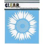 Clear Scraps - Mascils - 6 x 6 Masking Stencil - Sunflower