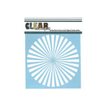 Clear Scraps - Mascils - 6 x 6 Masking Stencil - Spiral