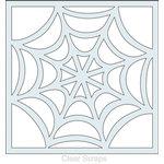 Clear Scraps - Mascils - 12 x 12 Masking Stencil - Spider Web