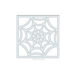 Clear Scraps - Mascils - 6 x 6 Masking Stencil - Spider Web