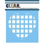 Clear Scraps - Mascils - 6 x 6 Masking Stencil - Square Heart