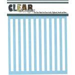 Clear Scraps - Mascils - 12 x 12 Masking Stencil - Stripes