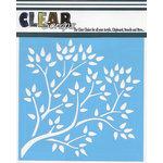 Clear Scraps - Mascils - 12 x 12 Masking Stencil - Tree Branch
